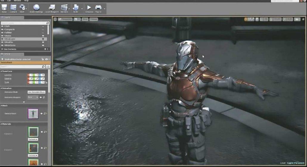 موتور بازی سازی Unreal Engine 4