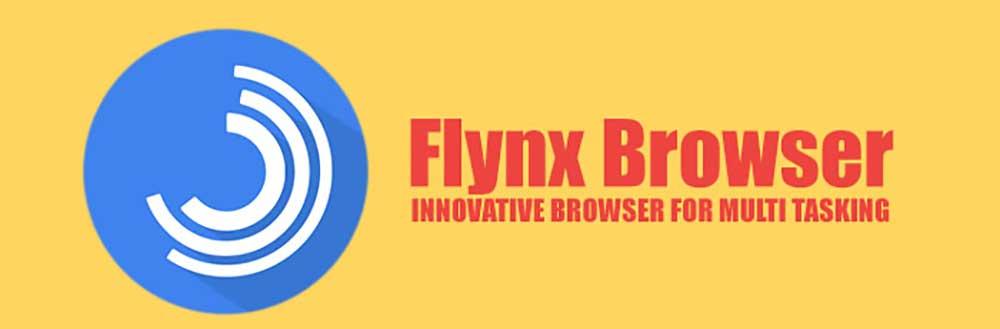 مرورگر flynx اندروید