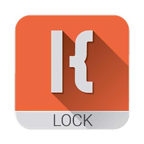 KLCK Kustom Lock Screen logo