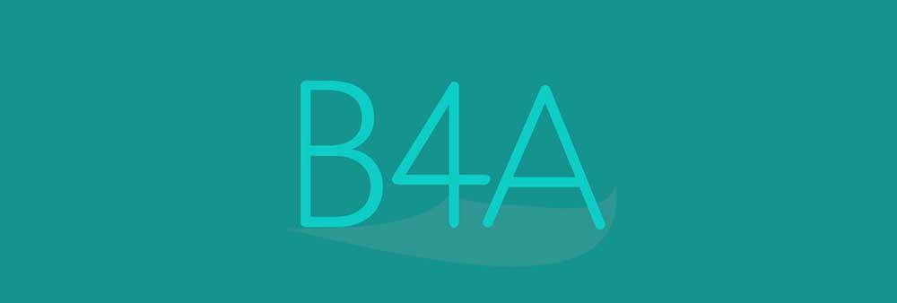 b4a محیط برنامه نویسی اندروید