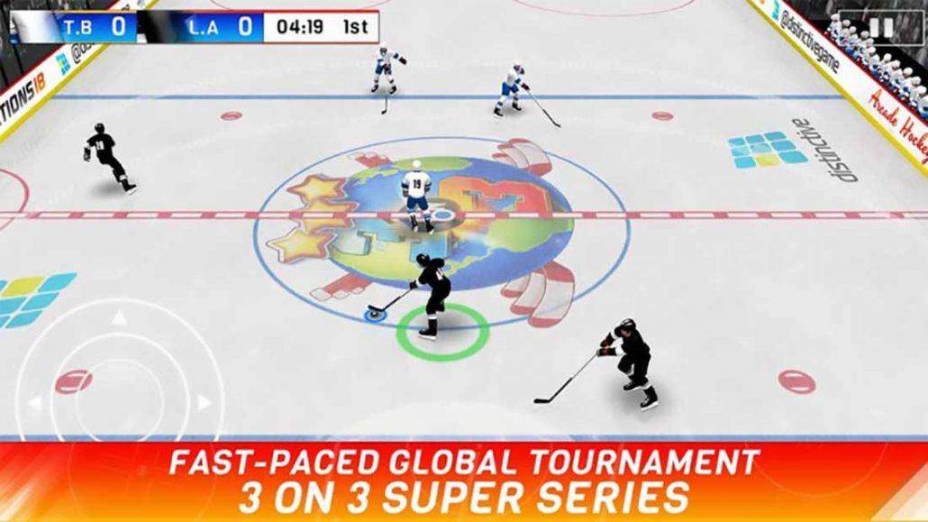 hockey nations بهترین بازی های ورزشی اندروید
