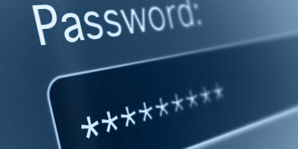 رمز عبور نشانه های هک شدن