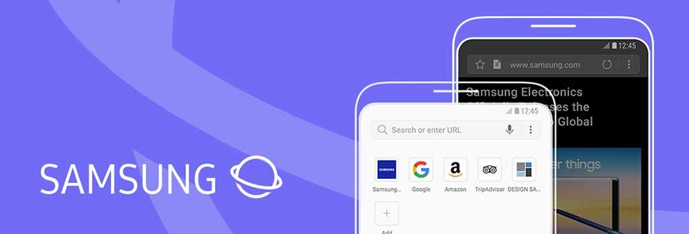 مرورگر samsung internet browser اندروید
