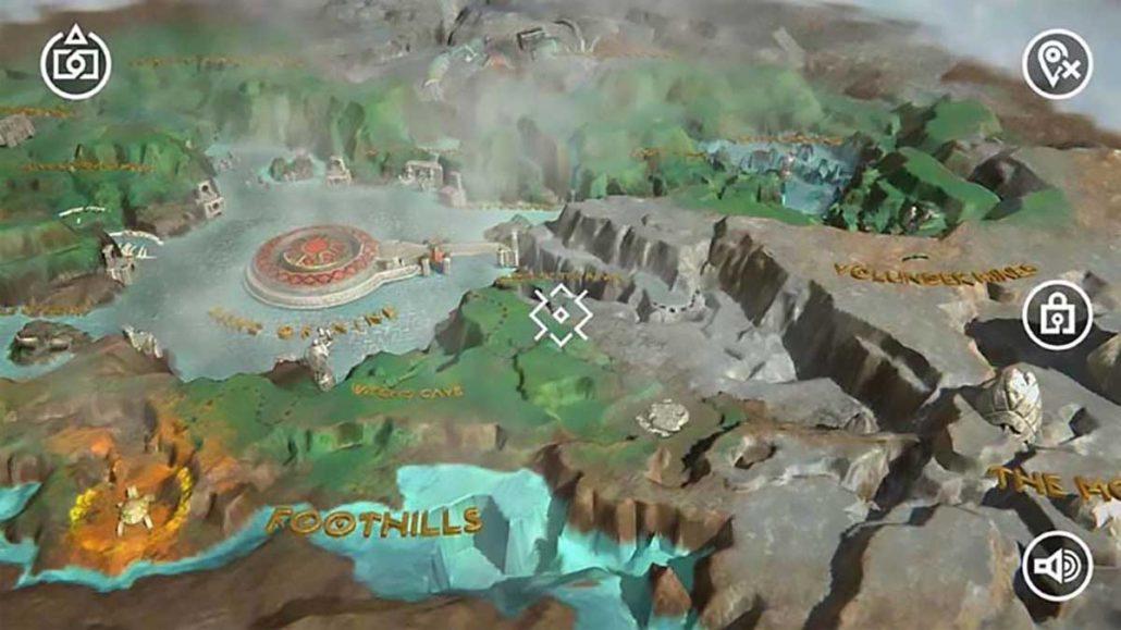 god of war: mimir's vision بهترین اپلیکیشن های اندروید تا اوریل 2018