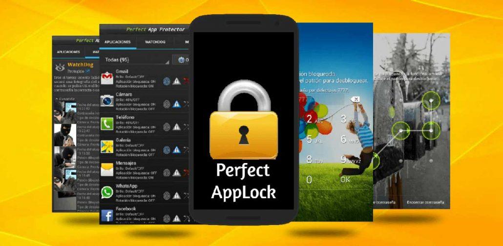 اپلیکیشن قفل برنامه اندروید perfect applock