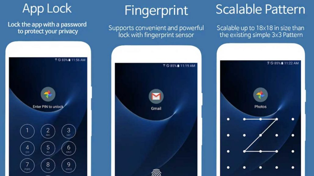 SpSoft Applock اپلیکیشن قفل برنامه اندروید