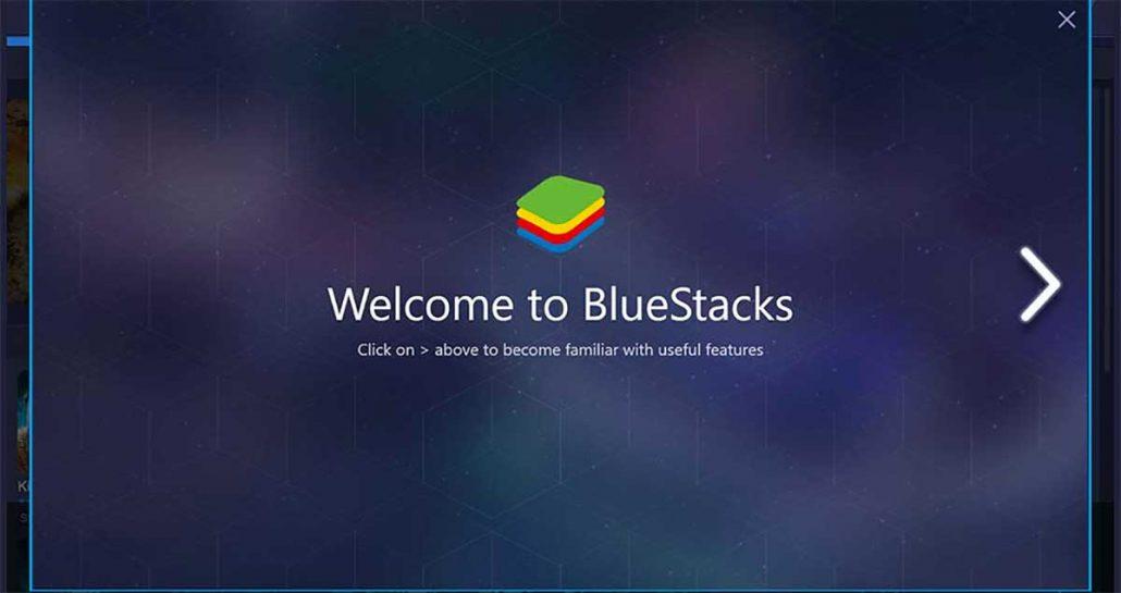 ظاهر BlueStacks شبیه ساز اندروید