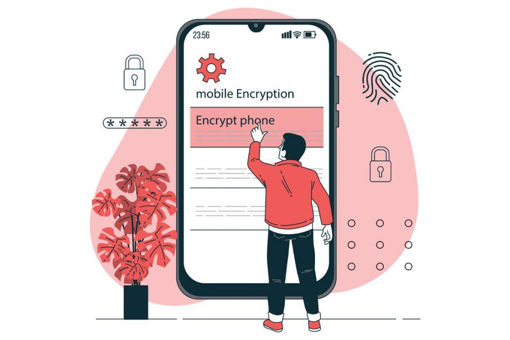 encrypt در امنیت داده